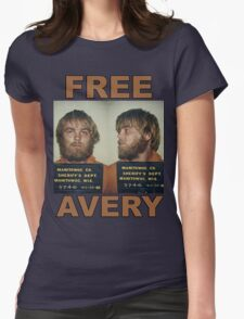 FREE STEVEN AVERY Womens Fitted T-Shirt