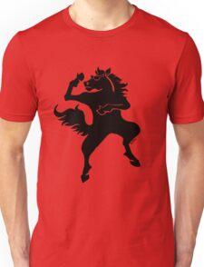Cool dancing horse Unisex T-Shirt