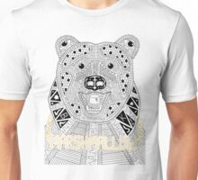 Marshmallow Gangsta Bear Unisex T-Shirt