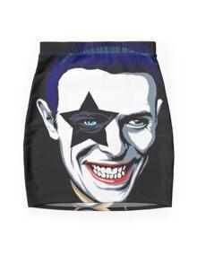 Black Star Mini Skirt