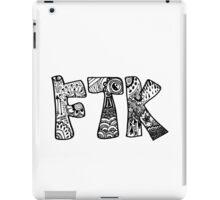 For The Kids FTK Zentangle iPad Case/Skin