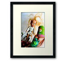 Barbie Skywalker Framed Print