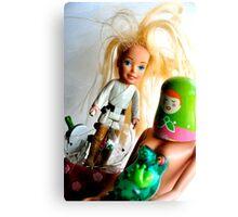 Barbie Skywalker Canvas Print