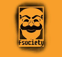 fsociety logo - black spray painted Unisex T-Shirt