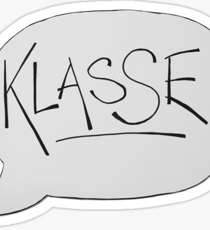 KLASSE Sticker