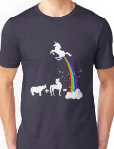 Funny unicorn origin Unisex T-Shirt
