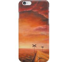 At the crossroads. iPhone Case/Skin