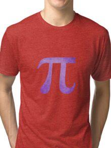 Purple Pi Symbol Tri-blend T-Shirt