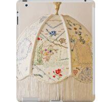 Vintage Lampshade Handstitched iPad Case/Skin