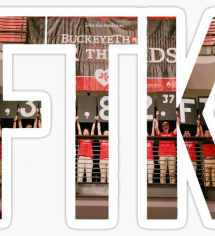 Buckeyethon FTK Sticker