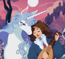 The Last Unicorn + Dan Avidan Sticker