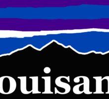 Louisiana Midnight Mountains  Sticker