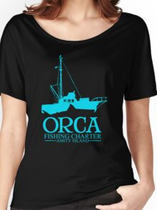 Orca Fishing Charter  Funny Men's Tshirt Women's Relaxed Fit T-Shirt