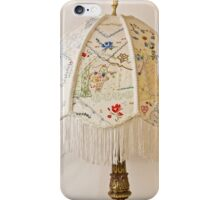 Vintage Lampshade Handstitched iPhone Case/Skin