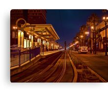 Metro Rail at twilight Canvas Print
