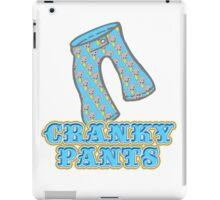 Funny Cranky Pants Design iPad Case/Skin