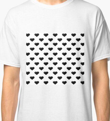 Pixel Hearts Classic T-Shirt