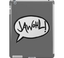 JAWOHL! iPad Case/Skin