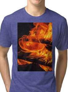 Fire - wrap-around (2011) Tri-blend T-Shirt
