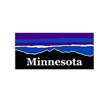 Minnesota Midnight Mountains Photographic Print