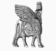 Assyrian Bull One Piece - Short Sleeve