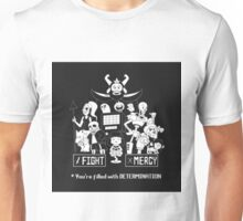 Undertale Fight or Mercy Unisex T-Shirt
