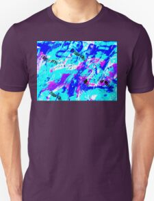 Ocean Abstract - Swimming Against the Tide Unisex T-Shirt