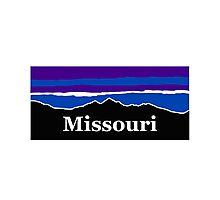 Missouri Midnight Mountains Photographic Print