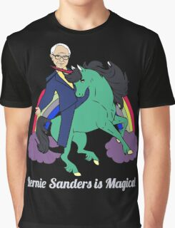Bernie Sanders is Magical Graphic T-Shirt