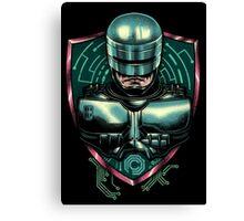 Cyberpunk Robocop Canvas Print