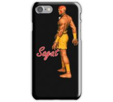 SAGAT iPhone Case/Skin