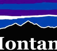Montana Midnight Mountains Sticker