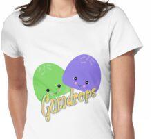Cute Kawaii Gumdrops Characters Womens Fitted T-Shirt