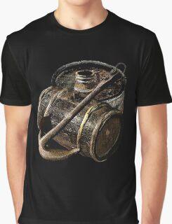 Barrels Awaiting To Board Graphic T-Shirt