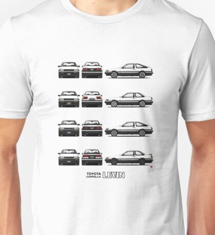 AE86 - Toyota Corolla Levin Unisex T-Shirt