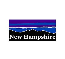 New Hampshire Midnight Mountains Photographic Print
