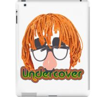 Funny Undercover Disguise Design iPad Case/Skin