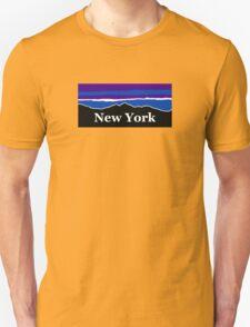 New York Midnight Mountains Unisex T-Shirt