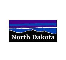North Dakota Midnight Mountains Photographic Print