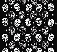 Máscaras (Black & White) by Kate Foray