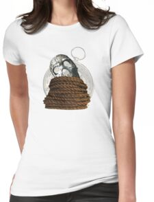 Lost At Sea Without Direction  Womens Fitted T-Shirt