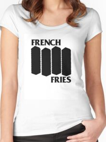 French Fries Women's Fitted Scoop T-Shirt