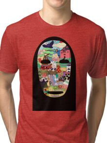 No face Tri-blend T-Shirt
