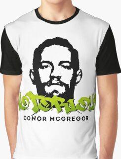 Conor McGregor Graffiti 04 Graphic T-Shirt