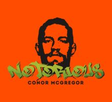 Conor McGregor Graffiti 04 Kids Tee