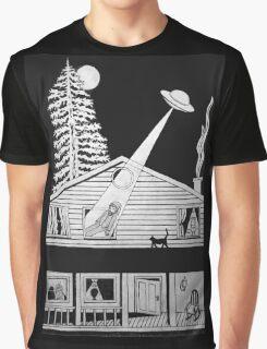 Alien Abduction Graphic T-Shirt