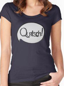 QUATSCH! Women's Fitted Scoop T-Shirt