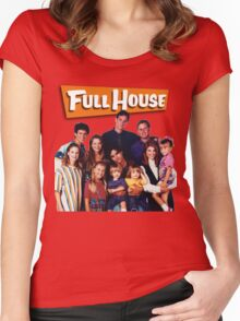 Full House Women's Fitted Scoop T-Shirt
