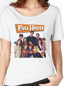 Full House Women's Relaxed Fit T-Shirt
