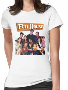 Full House Womens Fitted T-Shirt